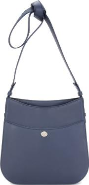Fleur Medium Leather Shoulder Bag