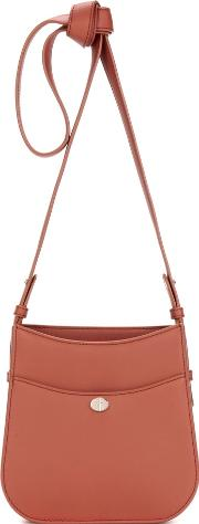 Fleur Small Leather Crossbody Bag