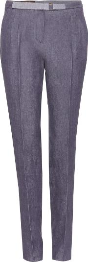 Fred Irish Tapered Linen Trousers