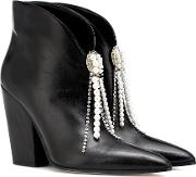 Belgium Leather Ankle Boots