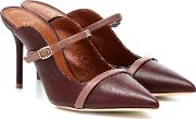 Melody 85 Leather Mules