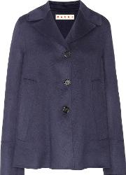 Wool, Alpaca And Cashmere Jacket
