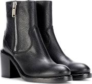 Clapton Zip Leather Ankle Boots