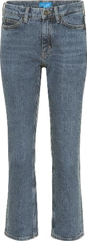 Daily Crop High Rise Straight Jeans