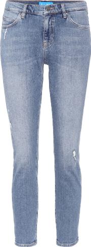 Tomboy Mid Rise Cropped Jeans