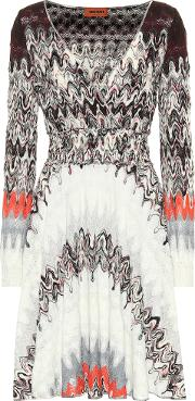 Knitted Wrap Effect Dress