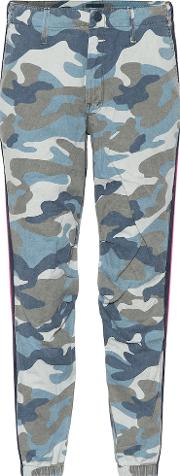 Mid Rise Camouflage Pants