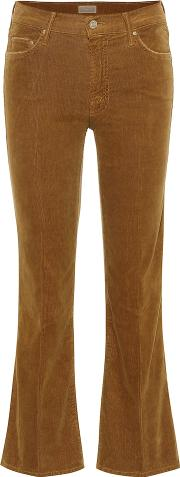 The Outsider Cropped Corduroy Jeans