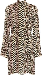 Animal Print Minidress