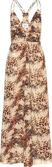 Eden Printed Cotton Slip Dress