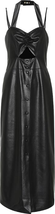 Exclusive To Mytheresa Deona Faux Leather Dress