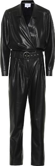Exclusive To Mytheresa Rocha Faux Leather Jumpsuit