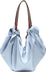 Inda Satin Shoulder Bag