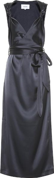 Shanti Satin Dress