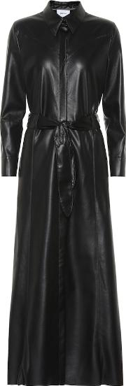 Taurus Faux Leather Dress