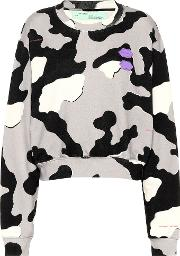 Exclusive To Mytheresa Printed Cotton Sweater