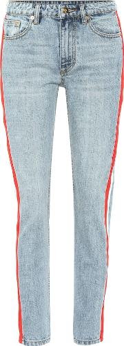 Alley Oop Striped Jeans