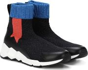 Flash Comet Knitted Sneakers