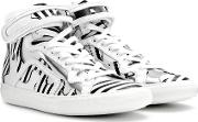 Mytheresa.com Exclusive Printed Leather High Top Sneakers