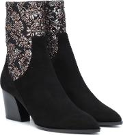Rodeo Suede Ankle Boots
