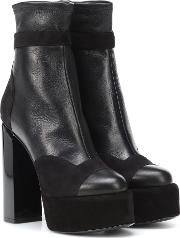Scarlett Leather Ankle Boots