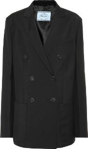 Wool And Mohair Jacket