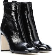 Ellis Patent Leather Ankle Boots