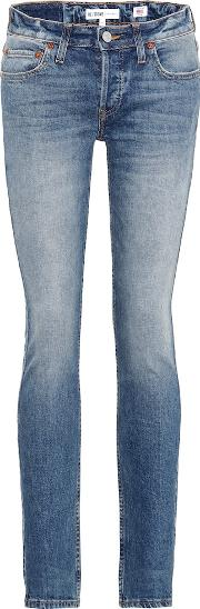 Stack Low Rise Skinny Jeans