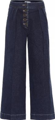 Brodie High Rise Wide Leg Jeans