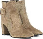 Polly Suede Ankle Boots