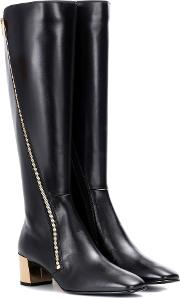 Polly Zip Leather Boots