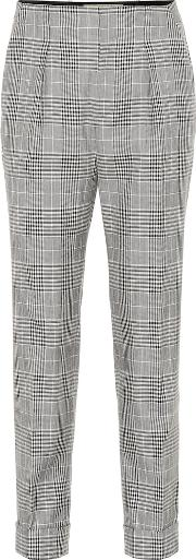 Horley Checked Wool Blend Pants