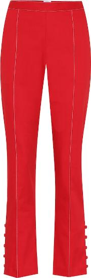 Oboe Cropped Cotton Trousers