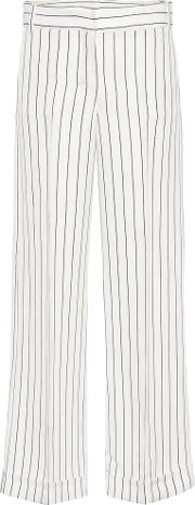 Milord Striped Cotton Blend Trousers