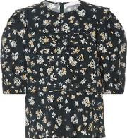 Floral Cotton Blouse