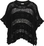 Knitted Cotton Poncho