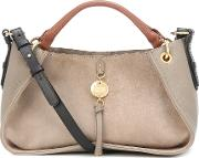 Luce Medium Leather Shoulder Bag