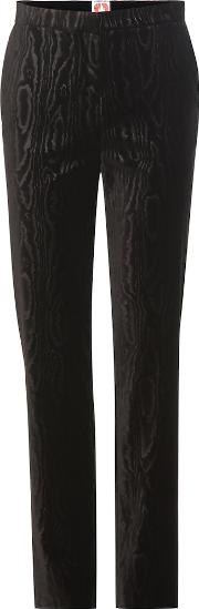 Andre Velvet Straight Trousers