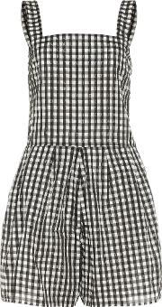 Thomas Checked Playsuit