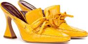 Remi 100 Patent Leather Mules