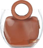 Frida Pvc And Leather Tote