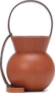 Keaton Leather Bucket Bag