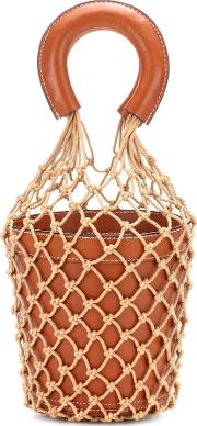 Moreau Leather Bucket Bag