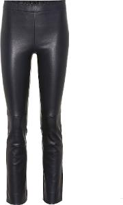 Maria Rosa Leather Pants
