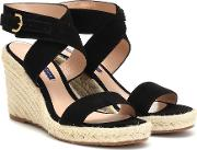 Lexia Suede Espadrille Wedges