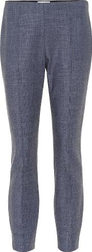 Cosso Wool Blend Skinny Pants