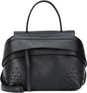Wave Small Leather Tote