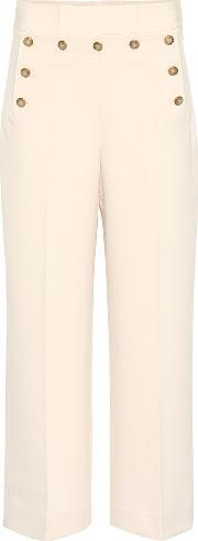 Cropped Sailor High Rise Pants