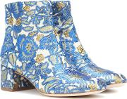 Shelby 50 Brocade Ankle Boots