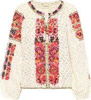 Yara Linen And Cotton Blouse